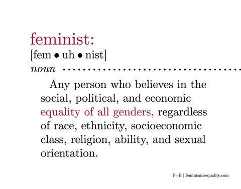 Hvad er en feminist